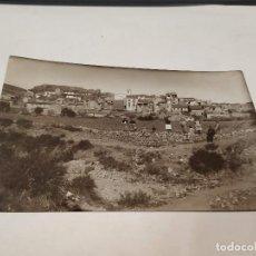 Postales: POSTAL FOTOGRÁFICA OROPESA (CASTELLÓN) - VISTA PARCIAL. Lote 195399598