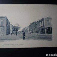 Postales: ALICANTE, CALLE SAN VICENTE.. Lote 195443423