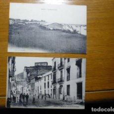 Postales: DENIA, LOTE DE DOS POSTALES. CALLE................ Lote 195443521