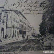 Postales: ALICANTE, EXPLANADA DE ESPAÑA.. Lote 195443568