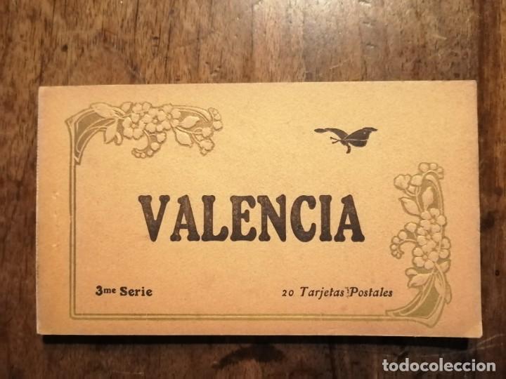 20 TARJETAS POSTALES COLOREADAS DE VALENCIA (Postales - España - Comunidad Valenciana Antigua (hasta 1939))