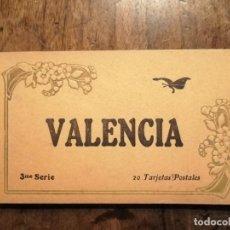 Postales: 20 TARJETAS POSTALES COLOREADAS DE VALENCIA . Lote 196301296