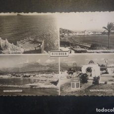 Postales: ANTIGUA CPA TARJETA POSTAL DE BENIDORM MULTIVISTAS, VER FOTOS. Lote 197217140