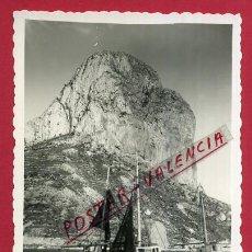 Cartes Postales: POSTAL ALICANTE CALPE PEÑON DE IFACH ORIGINAL P89694. Lote 198337431