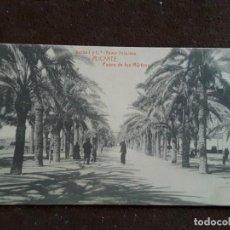 Postales: POSTAL ALICANTE PASEO DE LOS MÁRTIRES BERNAD Y CÍA BAZAR PRINCESA FOTOTIPIA THOMAS CLICHÉ CANTOS. Lote 198729203