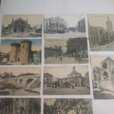 Postales: LOTE DE 10 POSTALES DE VALENCIA. Lote 199088353