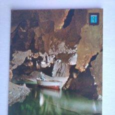 Postales: POSTAL 21 VALL DE UXÓ CASTELLON ENTRADA NUEVAS GALERÍAS ESCUDO DE ORO. Lote 199172081