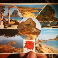 Postales: POSTAL PEÑÓN IFACH CALPE ALICANTE N 3641 PERGAMINO S/C. Lote 199176218