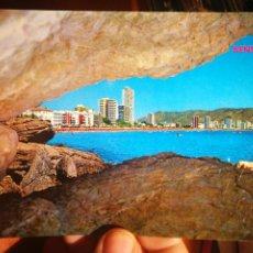 Postales: POSTAL BENIDORM PLAYA DE LEVANTE N 37 GALIANA ESCRITA. Lote 199176676