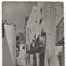 Postales: X123415 COMUNIDAD VALENCIANA CASTELLON BAJO MAESTRAZGO PENISCOLA CALLE NUEVA . Lote 199221131