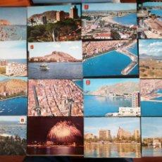 Postales: ALICANTE, LOTE DE 29 POSTALES VARIOS AÑOS. Lote 199296428