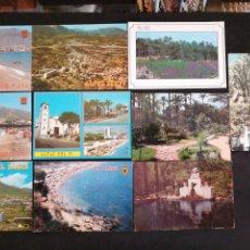 Postales: ALFAZ DEL PI, ELCHE, ALICANTE. LOTE DE 10 POSTALES. Lote 199300040