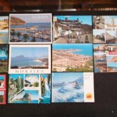 Postales: DEHESA DE CAMPO AMOR, OROPESA, CULLERA, COSTA BLANCA, OLIVA. LOTE DE 11 POSTALES. Lote 199301418