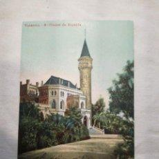 Postales: POSTAL ANTIGUA DE VALENCIA, CHALET DE RIPALDA. 1904.. Lote 199510551