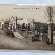 Postales: POSTAL BENASAL FUENTE EN SEGURES CHALET MIRALLES EDITA MACHI SIN CIRCULAR. Lote 199710718