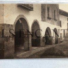 Postales: POSTAL BENASAL TIPICO PORCHE Y CASA AYUNTAMIENTO EDITA MACHI SIN CIRCULAR. Lote 199711656