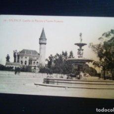 Postales: VALENCIA-CASTILLO DE RIPALDA Y FUENTE ALAMEDA.. Lote 199725105