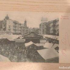 Postales: POSTAL SIN DIVIDIR EL REVERSO, EL MÈRCADO, VALENCIA, ED. ALMACÈN DE PAPEL, COMUNIDAD VALENCIANA.. Lote 199754883