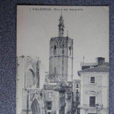 Cartoline: VALENCIA C VALENCIA CALLE DEL MIGUELETE POSTAL ANTIGUA. Lote 201230382
