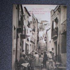 Postales: VALENCIA C ALICANTE CALLE BARRIO SANTA CRUZ RARA POSTAL FOTOGRÁFICA ANTIGUA. Lote 201230517