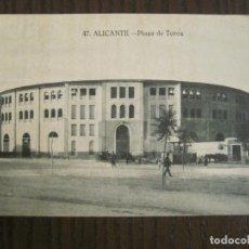 Postales: ALICANTE-PLAZA DE TOROS-47-PAPELERIA MARIMON-POSTAL ANTIGUA-(68.912). Lote 201358748