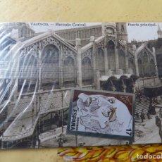 Postales: POSTAL COMMEMORATIVA PERIODICO LEVANTE. VALENCIA. Lote 201604641