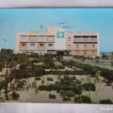 Postales: VALENCIA POSTAL DEL DESAPARECIDO HOTEL RECATI FACHADA FOTO RADA 1959 SELLO 1964 PLAN SUR DE VALENCIA. Lote 202080680