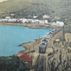 Postales: BENICASIM-APEADERO DE LAS VILLAS-FERROCARRIL-POSTAL ANTIGUA-(69.328). Lote 202488088