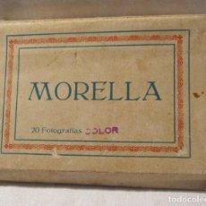Postales: BLOC ACORDEÓN COMPLETO 20 VISTAS DE MORELLA. 6 X 9 CM. ED ROMAN BELTRAN. Lote 202656931