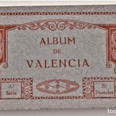 Postales: ALBUM DE VALENCIA 3ª SERIE - 20 POSTALES - FOTOTIPIA THOMAS - MUY BUEN ESTADO. Lote 203282317