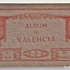 Postales: ALBUM DE VALENCIA 6ª SERIE - 20 POSTALES - FOTOTIPIA THOMAS - MUY BUEN ESTADO. Lote 203282418