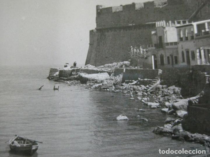 PEÑISCOLA-FOTOGRAFICA-POSTAL ANTIGUA-(69.722) (Postales - España - Comunidad Valenciana Antigua (hasta 1939))