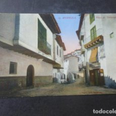Postales: MORELLA CASTELLON PLAZA DE TARRASCONS. Lote 203970141