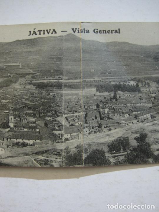 Postales: JATIVA-VISTA GENERAL-POSTAL PANORAMICA CUADRUPLE-POSTAL ANTIGUA-(70.300) - Foto 9 - 204816127