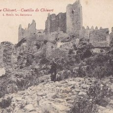 Postales: CASTELLON ALCALA DE CHIVERT CASTILLO. ED. ROISIN Nº 9. SIN CIRCULAR. Lote 205039876