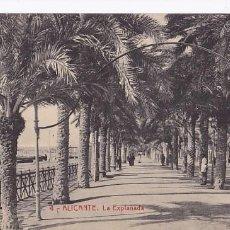 Postales: ALICANTE LA EXPLANADA. ED.THOMAS Nº 4. SIN CIRCULAR. Lote 205046866