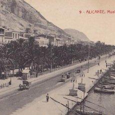 Postales: ALICANTE MUELLE DE COSTA. ED.THOMAS Nº 9. SIN CIRCULAR. Lote 205047730