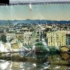 Postales: POSTAL PANORÁMICA DOBLE AÑO 1922 * VALENCIA , VISTA GENERAL * ( 56 X 9). Lote 205049465