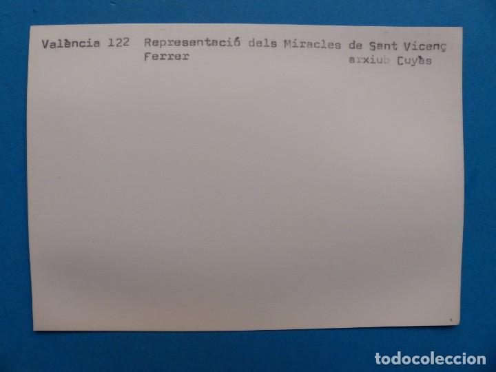 Postales: VALENCIA - REPRESENTACIÓ DELS MIRACLES DE SAN VICENÇ FERRER - ARXIU CUYAS - Foto 2 - 205879130