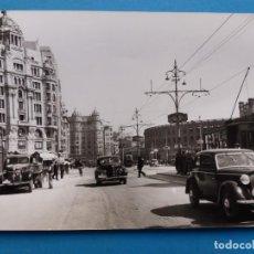 Postales: VALENCIA - CARRER DE XATIVA - ARXIU CUYAS, AÑO 1955. Lote 205879450