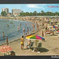Postales: POSTAL SIN CIRCULAR - TORREVIEJA 19 - ALICANTE - PLAYA DE LOS LOCOS - EDITA ARRIBAS. Lote 206411713