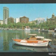 Postales: POSTAL SIN CIRCULAR -ALIICANTE 65-5 - VISTA PANORAMICA PUERTO Y CIUDAD - EDITA J. JIMENEZ. Lote 206411950