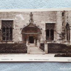 Postales: VALENCIA. LONJA. PATIO DE LOS NARANJOS.. Lote 206963502