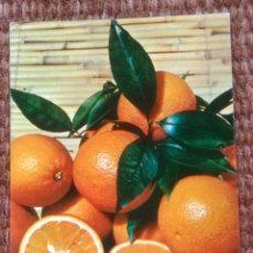 Postales: VALENCIA - NARANJA VARIEDAD BLANCA - SELLO PLAN SUR DE VALENCIA. Lote 207057053