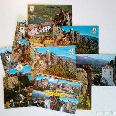 Postales: LOTE DE 8 POSTALES Y 2 ACORDEONES DE CASTELL DE GUADALEST, ALICANTE. AÑOS 60 Y 70.. Lote 207082448