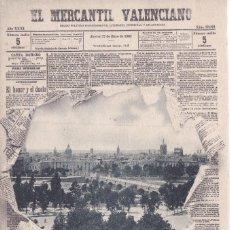 Postales: VALENCIA - EL MERCANTIL VALENCIANO. Lote 207438078
