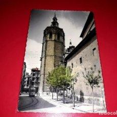 """Postales: VALENCIA """" TORRE DEL MIGUELETE """" ESCRITA Y SELLADA 1957. Lote 208063110"""