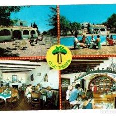 Postales: URBANIZACION TABAIRA MORAIRA TEULADA RESTAURANTE ALICANTE - SELLOS. Lote 208815572