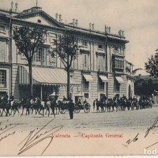 Postales: CAPITANIA GENERAL-CIRCULADA Y CON SELLO-VALENCIA. Lote 210232311