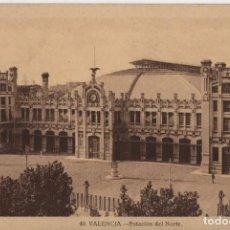 Postales: ESTACION DEL NORTE-VALENCIA. Lote 210232380